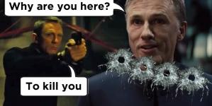 Daniel Craig stars as James Bond in the final Spectre trailer