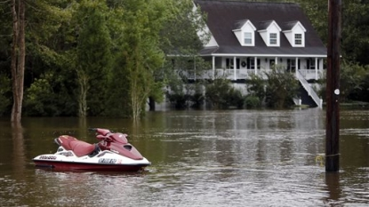 More heavy rainfall swamps South Carolina