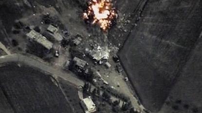 Kremlin says its air strikes in Syria target