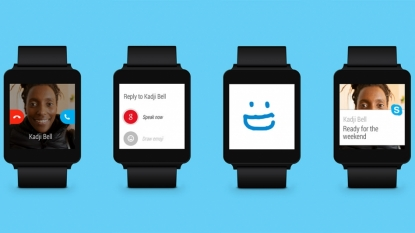 Skype Android app gets an update for Android Wear support