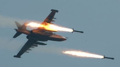 Russian Federation launches 1st air strikes in Syria