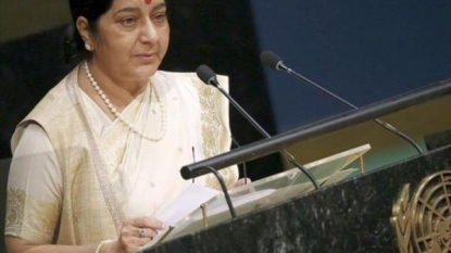 Sushma rejects Sharif's peace proposal