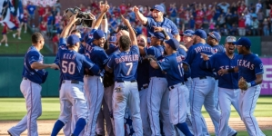 Texas Rangers eliminate Los Angeles Angels of Anaheim