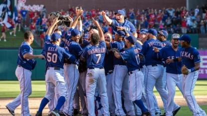 Texas Rangers eliminate Los Angeles Angels of Anaheim