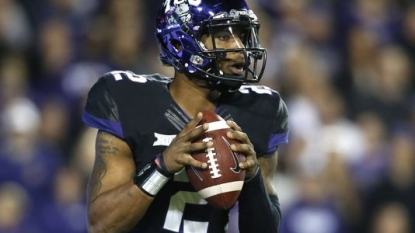 Texas player apologizes for halftime tweet in loss to TCU