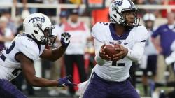 Third-ranked TCU survives upset bid on late, improbable touchdown
