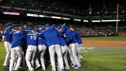 Toronto Blue Jays win the American League East