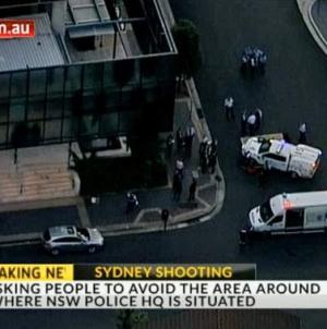 Two people die in shootings near Sydney police headquarters