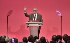 UK's new Labour leader fires up faithful in first speech