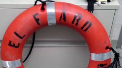 El Faro believed to have sunk, one body found
