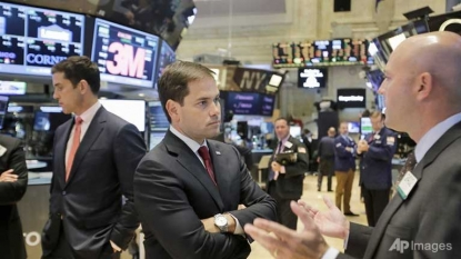 United States stocks end sharply higher