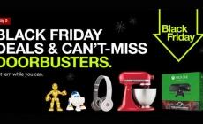Target shares up on Black Friday