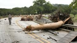 4 dead as rain, ice hit parts of Texas, Oklahoma, Arkansas