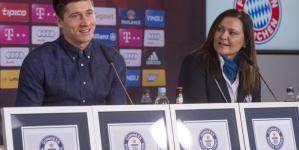 Robert Lewandowski awarded with four Guinness World Record certificates for