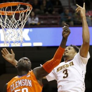 Clemson comes up short against Minnesota