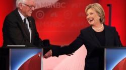 Hillary, Bernie debate who is more progressive