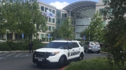 Man found dead in Apple conference room was employee