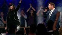 Anne Hathaway, James Corden Diss Each Other Hard in Rap Battle