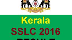 Kerala SSLC Result 2016 @ keralaresults.nic.in – KSEB 10th Class Results