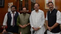 Naidu, Naqvi, Goyal, Sitharaman among 12 in BJP's Rajya Sabha list