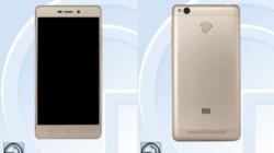 Xiaomi Redmi 3A Clears TENAA, Features 4000-mAh Battery, 16MP Camera