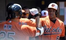 Davis' slam propels Orioles past skidding Rays, 12-5