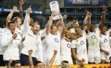 Flanker Harrison named for England's bid to sweep series