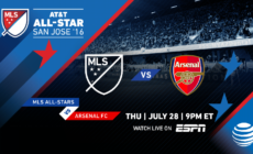 Arsenal kids looking to impress in the 2016 MLS All-Star Game
