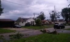 Possible tornado reported in LaSalle