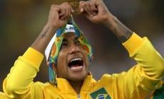 Neymar gets Rio 2016 tattoo after winning Olympic gold