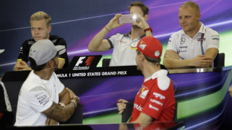 Hamilton fastest in 1st practice at US Grand Prix
