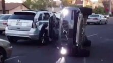 Uber suspends self-driving auto tech after Arizona crash