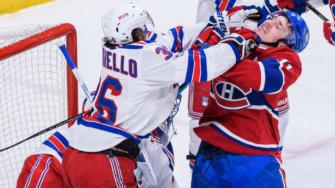 Glass, Lundqvist help Rangers beat Canadiens 2-0 in Game 1