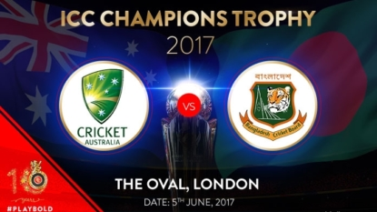CT 2017: Australia bundle out Bangladesh for 182