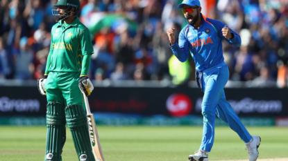 Champions Trophy: India beat Pakistan by 124 runs