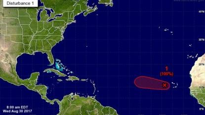 Tropical disturbance brushes NC coast, heading out to sea