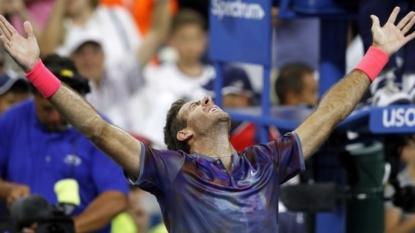 Del Potro sets up Federer clash at US Open quarters