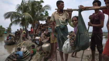 Rohingyas fled to Bangladesh in last 2 weeks