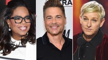 Ellen DeGeneres Fights Tears FaceTiming Oprah Winfrey in Their Mudslide-Damaged Neighborhood