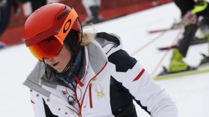 Mikaela Shiffrin Begins Gold Rush