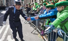 Mark Hamill celebrates St. Patrick's Day at Dublin parade