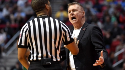 A Ridiculous Technical Foul Was Called In An NCAA Tournament Game Today