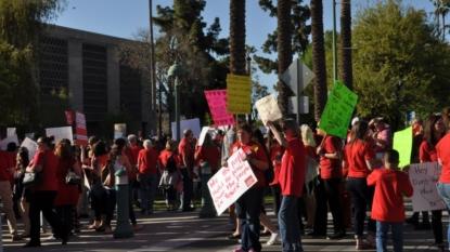Arizona educators 'overwhelmingly support' walking out next week