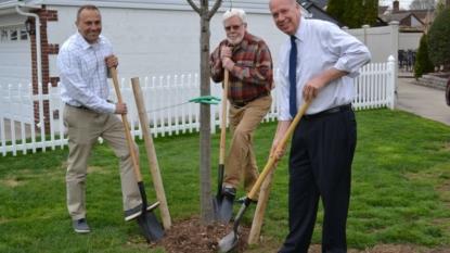 Celebrating Arbor Day in Tree City- Ames Iowa