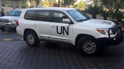 Chemical Arms Experts Enter Douma