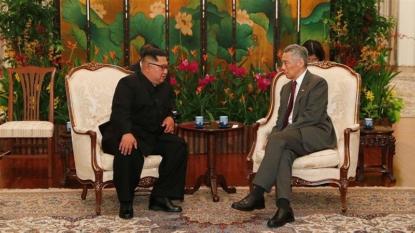 Trump and North Korea's Kim in Singapore for historic summit