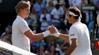 Federer, Nadal, Djokovic practice side by side